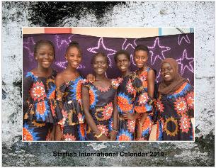 2019 Starfish Calendar